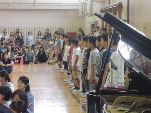 音楽集会ボディパーカッション