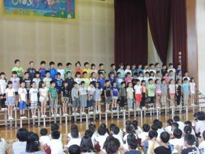 音楽集会合唱